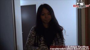 Asiatische Teen Jureka Del Mar geht fremd mit BBC