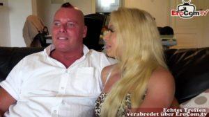 Prominenter aufgerissen von Blondine auf Mallorca